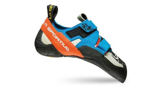 La Sportiva Otaki Climbing Shoes Men Blue/Flame